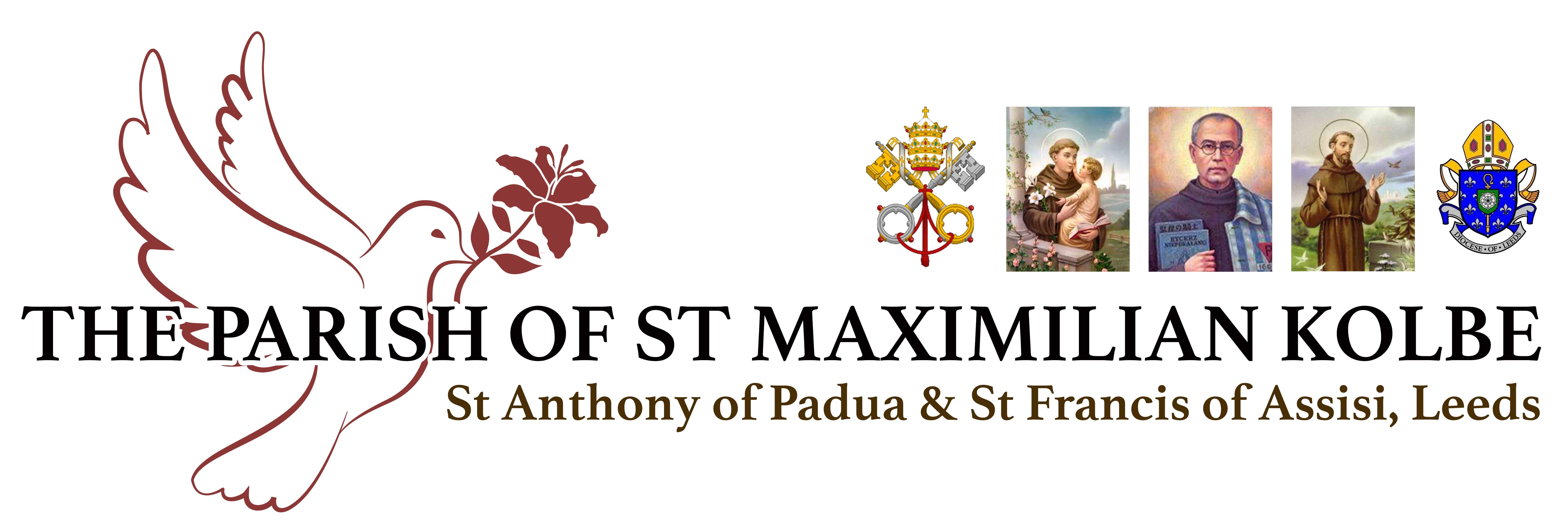 Logo for The Parish of St Maximilian Kolbe, Leeds